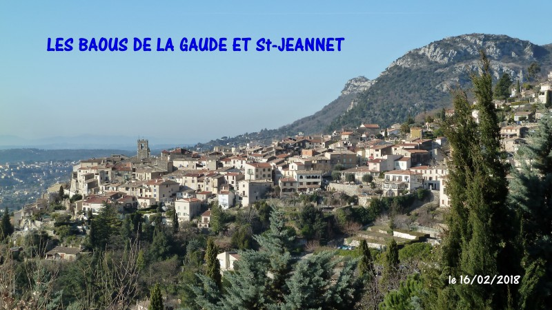 BAOUS DE LA GAUDE ET DE St-JEANNET